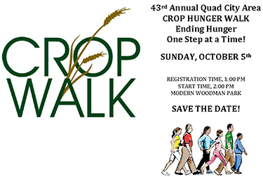 CROP Walk, 2pm Sunday Oct 5