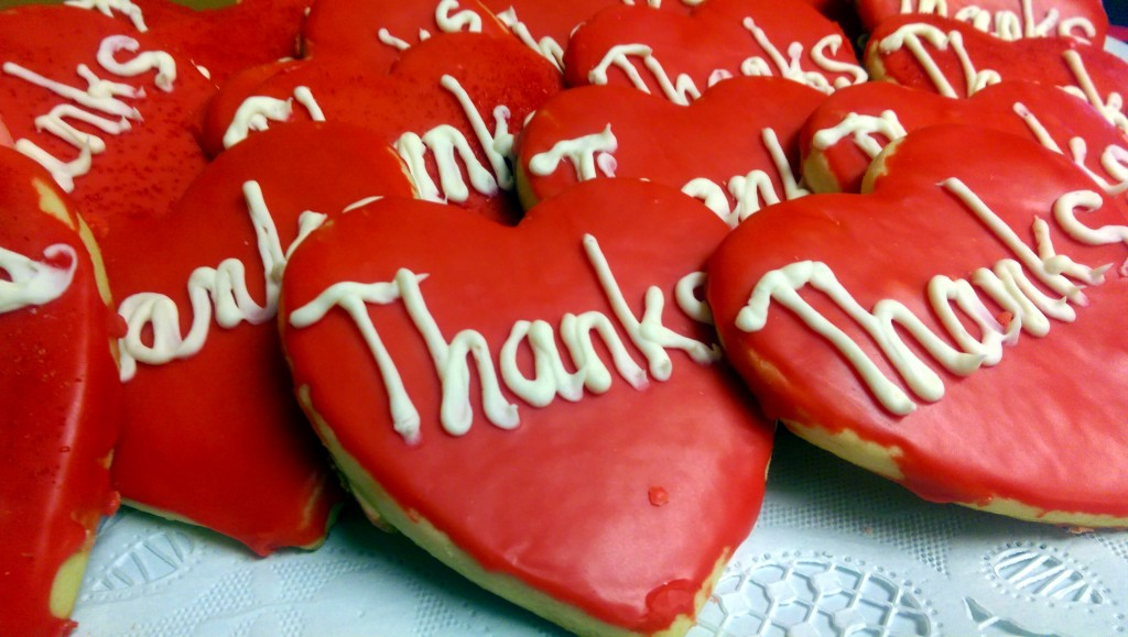 Thanks cookies