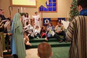 December 2014 No-Rehearsal Christmas Pageant
