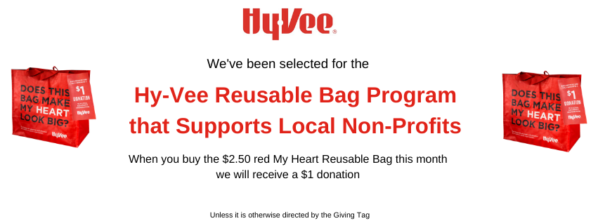 All Saints Lutheran Church Food Pantry & Clothing Closet to benefit during the month of July from Hy-Vee Red Bag program